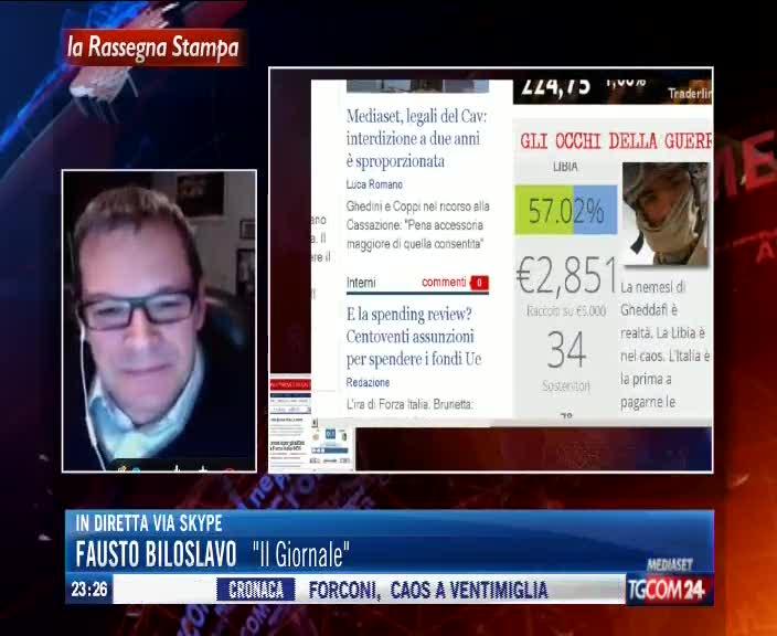 Fausto Biloslavo a Tgcom24 racconta dell'avventura de Gli Occhi della Guerra