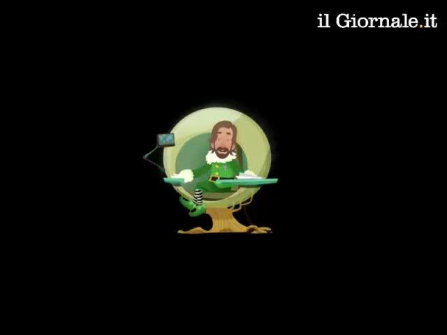 La Juventus augura Buon Natale con un cartone
