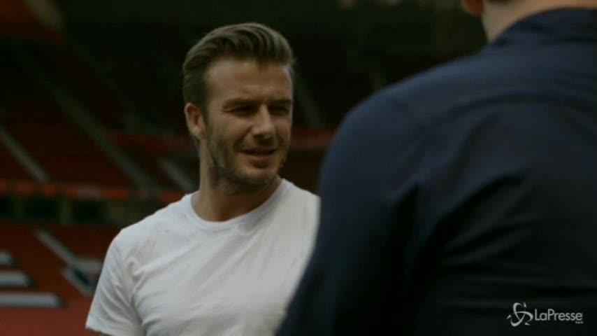 David Beckham visita gli stabilimenti di Diageo in Scozia