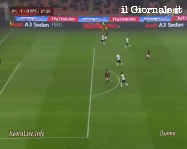 I gol contro lo Spezia