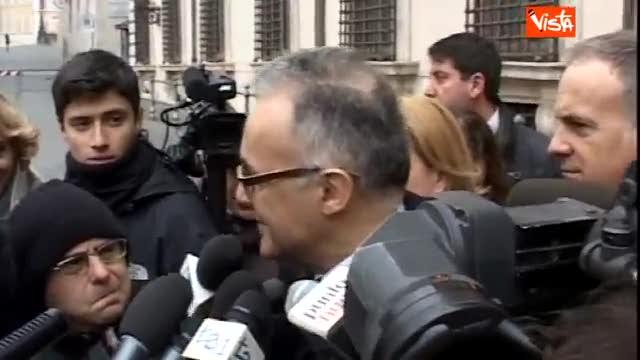 """Rimpasto, Mauro: """"Il governo dura fino al 2015"""""""