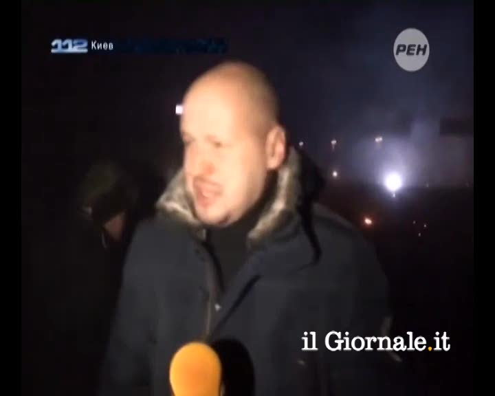 Kiev, giornalista colpito da una granata
