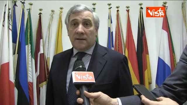 """Tajani: """"Costretto ad avviare la procedura d'infrazione"""""""