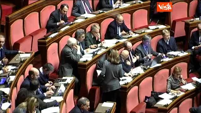 Al Senato raccolta firme contro lo strappo di Grasso
