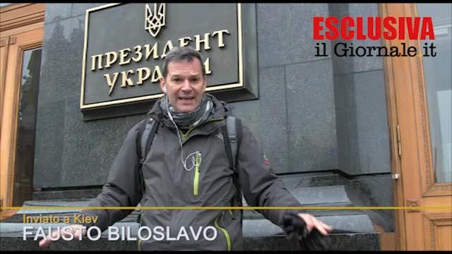 Kiev, il palazzo presidenziale in mano ai ribelli