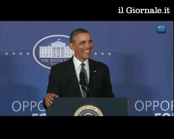 "Obama scherza: ""Stiamo sviluppando Iron Man"""