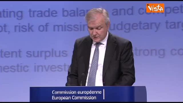 """Rehn: """"Misure insufficienti a ridurre il debito"""""""
