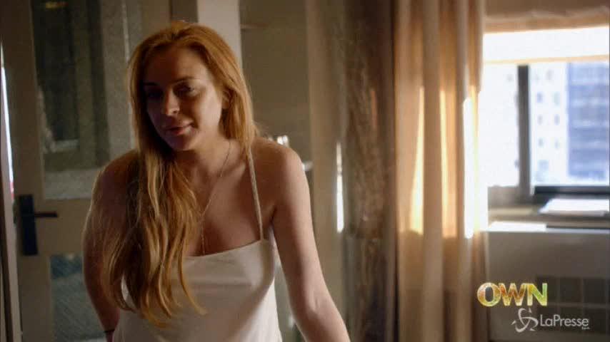 Lindsay Lohan in docu-fiction di Oprah Winfrey, in onda su Own il 9 marzo