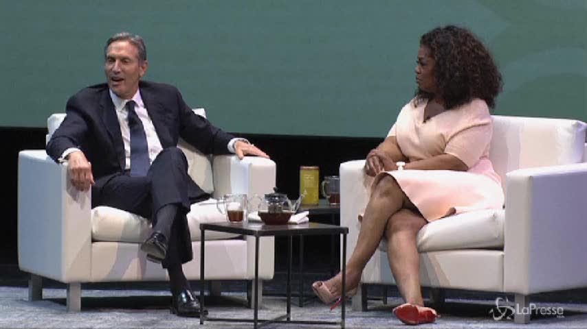 Starbucks, arriva il tè di Oprah Winfrey