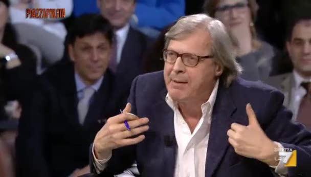 Sgarbi contro euro e maxi-stipendi ai manager pubblici