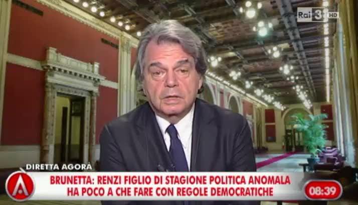 """""""Signor conduttore? Arrivederci"""" Brunetta lascia la trasmissione"""