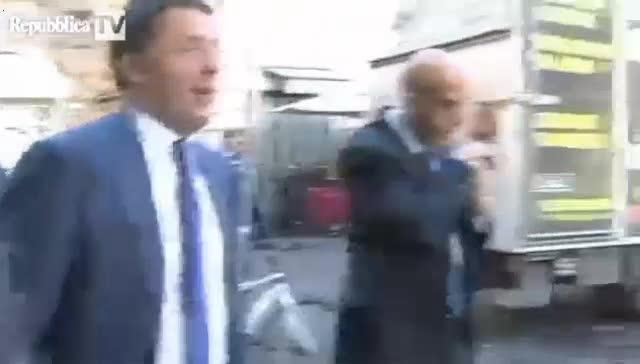 """Renzi: """"Inc... nero perché non mi hanno fatto giocare la partita del cuore"""""""