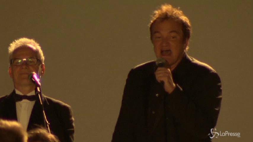 Tarantino, Thurman, Travolta festeggiano 20 anni di Pulp Fiction
