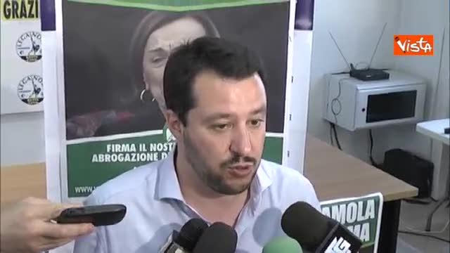 """Salvini: """"Dialogare per un nuovo centrodestra"""""""