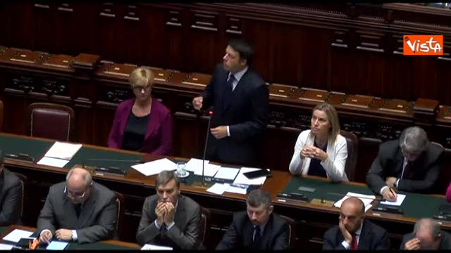 """Renzi: """"Portiamo in Europa un'Italia forte"""""""