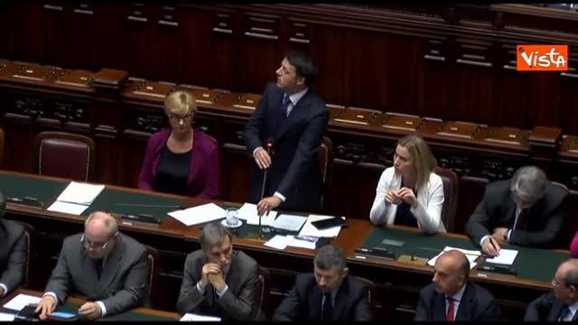 """Renzi: """"In Europa alziamo l'ambizione non la voce"""""""