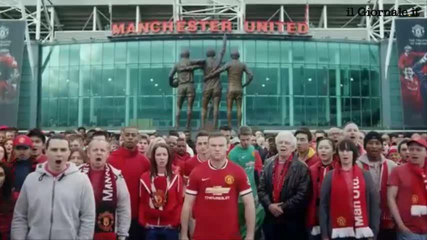 Lo spot del Manchester United che presenta la nuova maglia