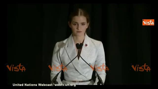 Emma Watson all'Onu: ho deciso di essere femminista