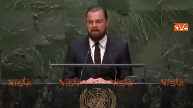 """Di Caprio all'Onu: """"Governi e industrie devono agire"""""""