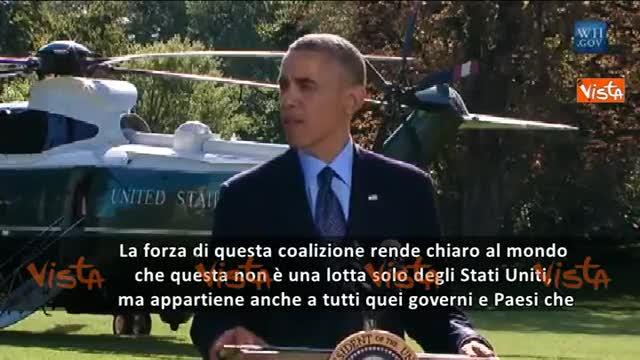 """Obama: """"Questa guerra non riguarda solo l'America"""""""
