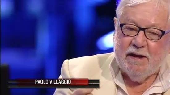 """Genova, Paolo Villaggio agli Angeli del fango: """"La colpa è anche vostra"""""""