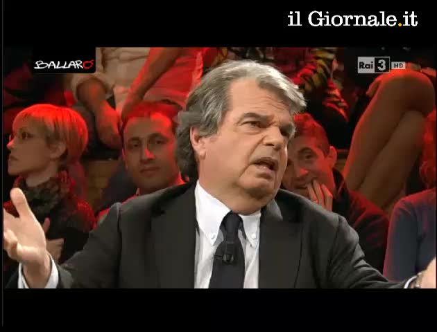 "Brunetta smaschera Giannini: ""Poi non chiamarmi piagnucolando"""