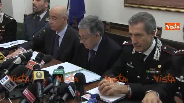 """Il procuratore: """"A Roma più organizzazioni criminali"""""""