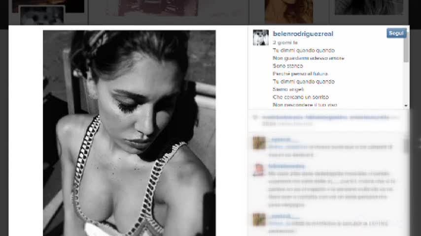 Belen in bikini travolta da onde di passione in Argentina e da polemiche su Instagram