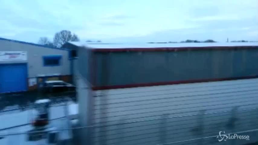 Freddo in tutta Europa: in Italia neve al nord