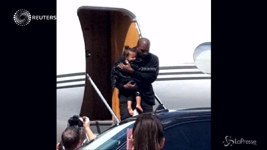 Kim Kardashian con la famiglia in Terra Santa