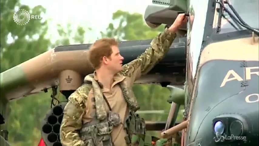 Principe Harry in addestramento con la Defence Force australiana