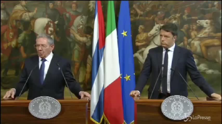 """Castro: """"Italia ha un ruolo importante nei negoziati"""""""