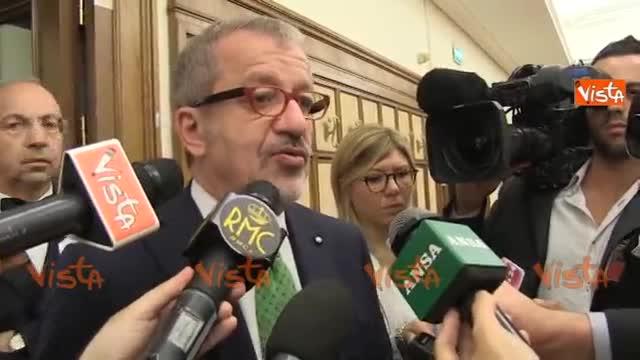 "Maroni: ""Aprire i campi profughi in Libia"""