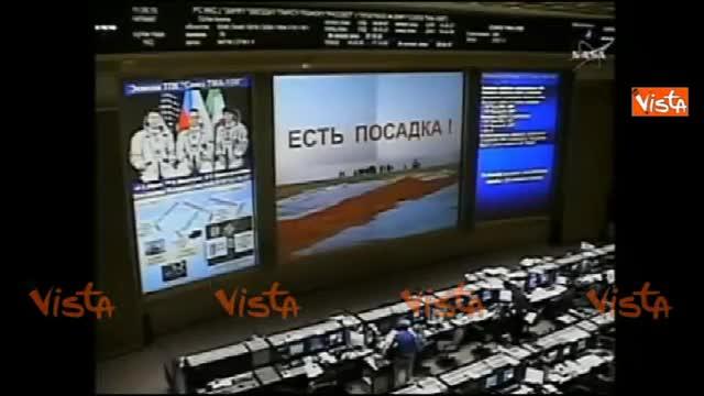 La Soyuz atterra in Kazakistan