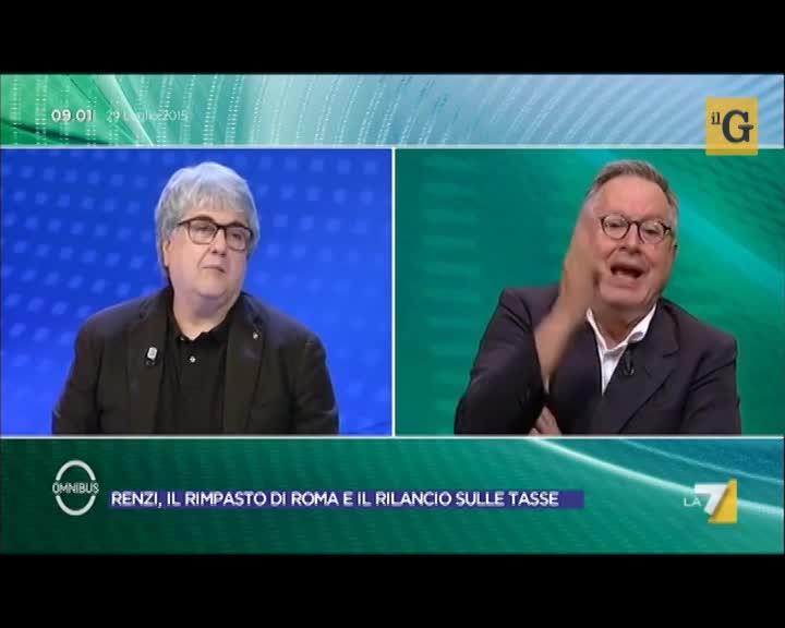 Paolo Liguori mette a tacere il piddì Realacci