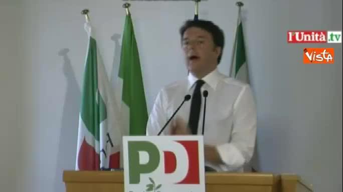 """Renzi: """"Basta retorica del Sud abbandonato"""""""