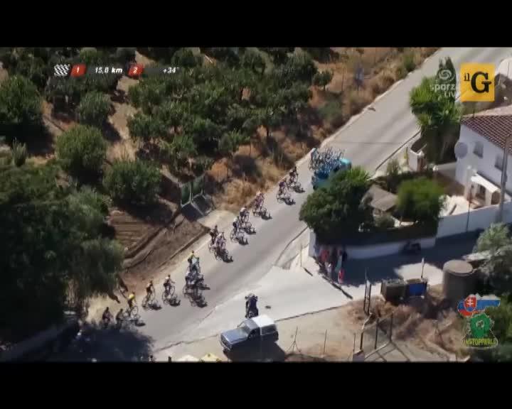 Spagna, Nibali espulso dalla Vuelta: si è fatto trainare da un'auto