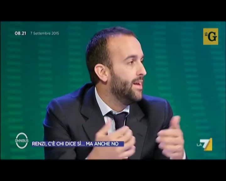 """Claudio Cerasa: """"Pd spaccato teme la deriva dittatoriale di Renzi"""""""