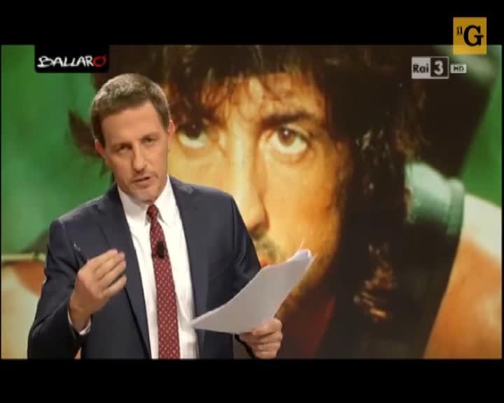 """Giannini risponde a Renzi: """"Rambo, se voglio, me lo vado a vedere al cinema"""""""