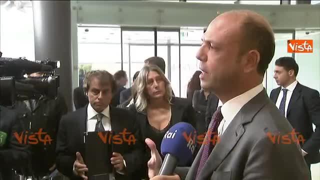 """Alfano: """"Chiesto a Ue rafforzare Frontex"""""""