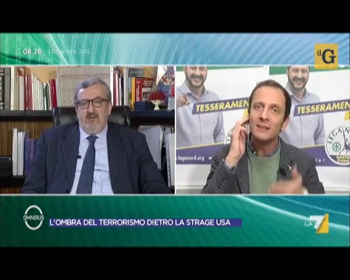 Lite in diretta fra Emiliano e Fedriga