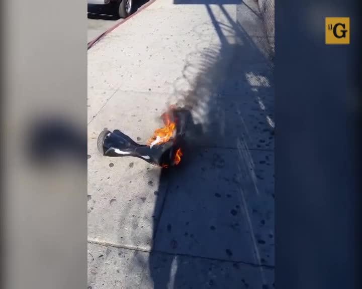 Gli hoverboard prendono fuoco facilmente