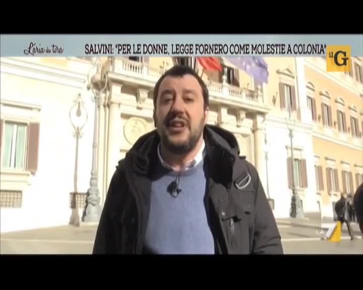 """Salvini: """"Agli stupratori glielo taglierei!"""""""