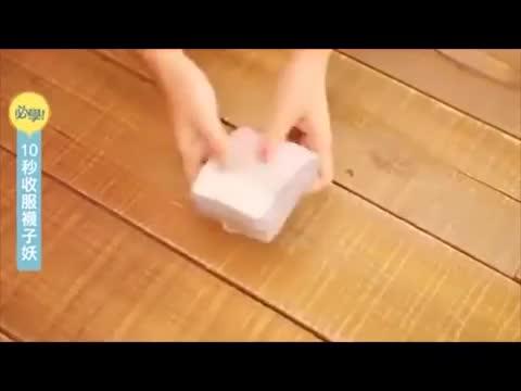 Come piegare i calzini