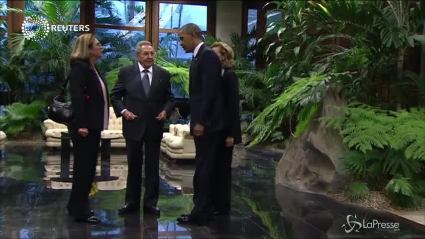 Storica visita di Obama a Cuba