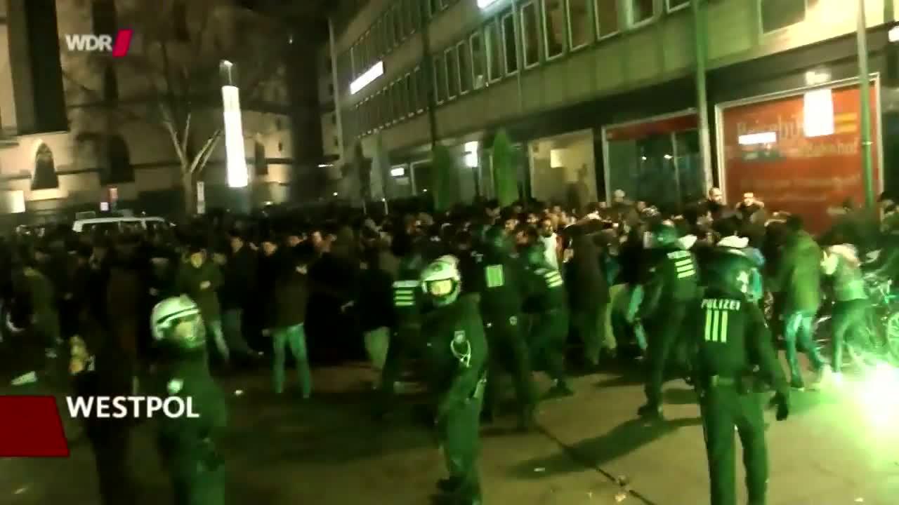 Colonia, il video delle violenze di Capodanno