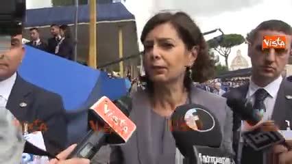 """Marò assenti alla parata, Boldrini: """"Non dipende da me"""""""