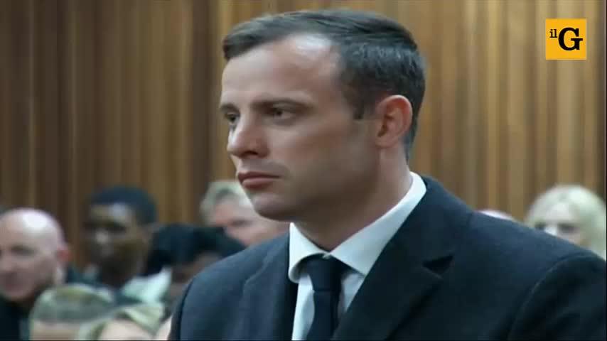 Pistorius, la lettura della sentenza d'appello