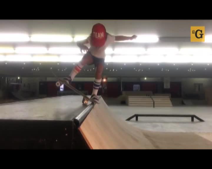 La skater di 8 anni spopola su Youtube