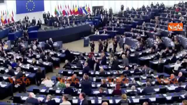 Ban Ki-moon contestato a Strasburgo